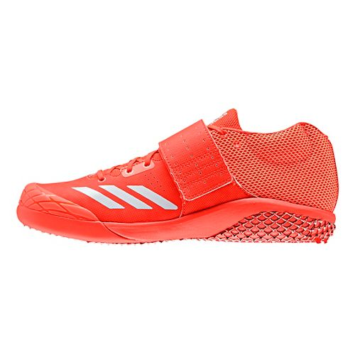 adidas Adizero Javelin Racing Shoe - Red/White/Silver 9.5