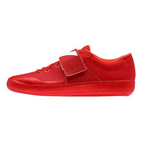 adidas Adizero Shotput Racing Shoe - Red/White/Red 8.5