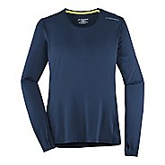 Womens Brooks Steady Long Sleeve Technical Tops