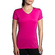 Womens Brooks Steady Short Sleeve Technical Tops