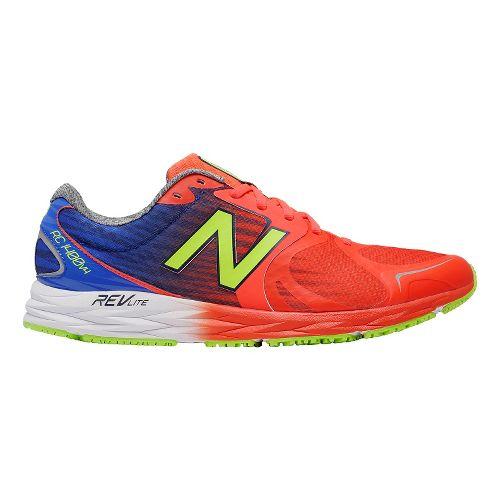 Mens New Balance 1400v4 Running Shoe - Red/Blue 11.5