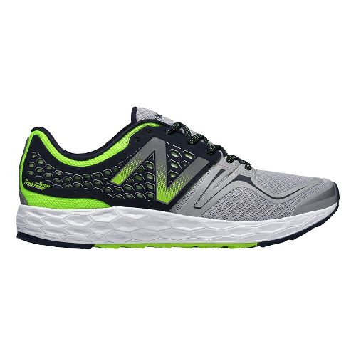 Mens New Balance Fresh Foam Vongo Running Shoe - Grey/Black 7.5