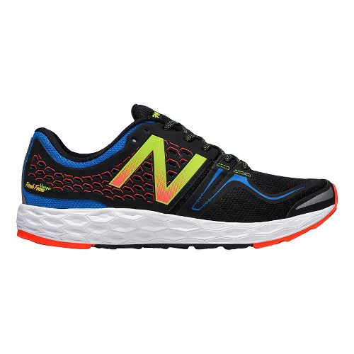 Mens New Balance Fresh Foam Vongo Running Shoe - Blue/Black 12.5