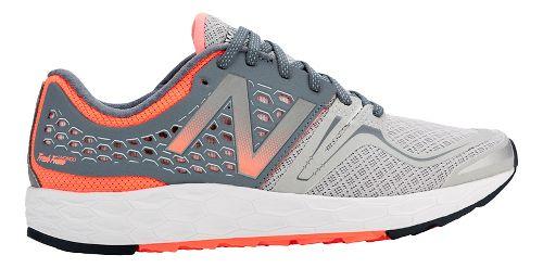 Womens New Balance Fresh Foam Vongo Running Shoe - Silver/Pink 6