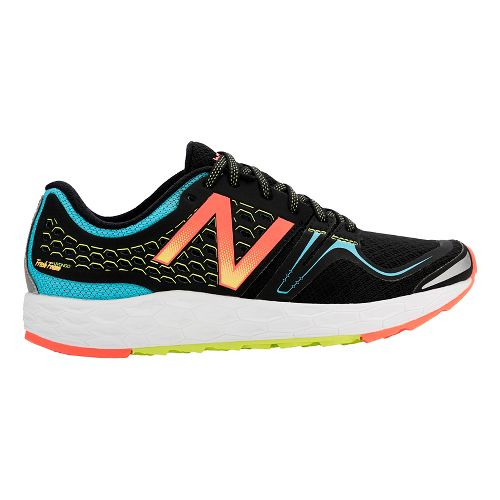 Womens New Balance Fresh Foam Vongo Running Shoe - Black/Blue 7.5