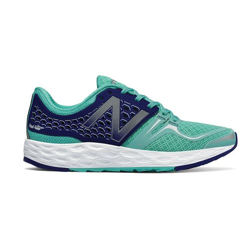 Womens New Balance Fresh Foam Vongo Running Shoe - Blue/White 7.5