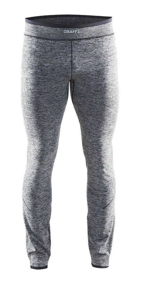 Mens Craft Active Comfort Pants Tights - Black XL