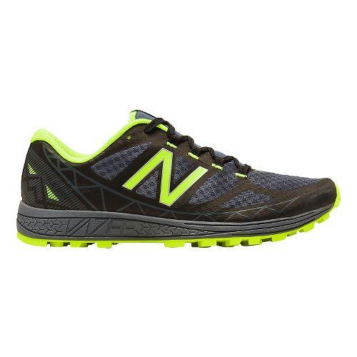 Mens New Balance Vazee Summit Trail Running Shoe - Black/Green 11.5