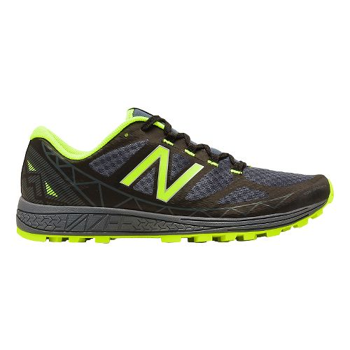 Mens New Balance Vazee Summit Trail Running Shoe - Black/Green 12