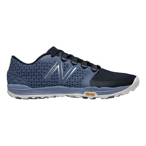 Mens New Balance Minimus 10v4 Trail Trail Running Shoe - Grey/Black 14