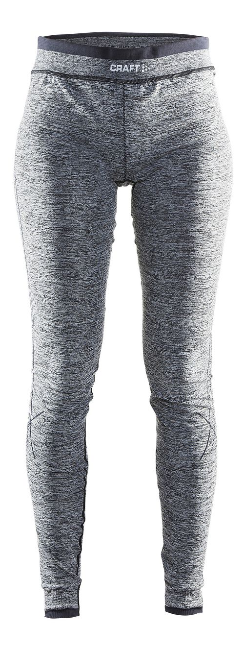 Womens Craft Active Comfort Tights & Leggings Pants - Black L