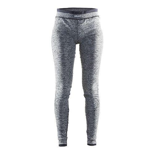 Womens Craft Active Comfort Tights & Leggings Pants - Black L