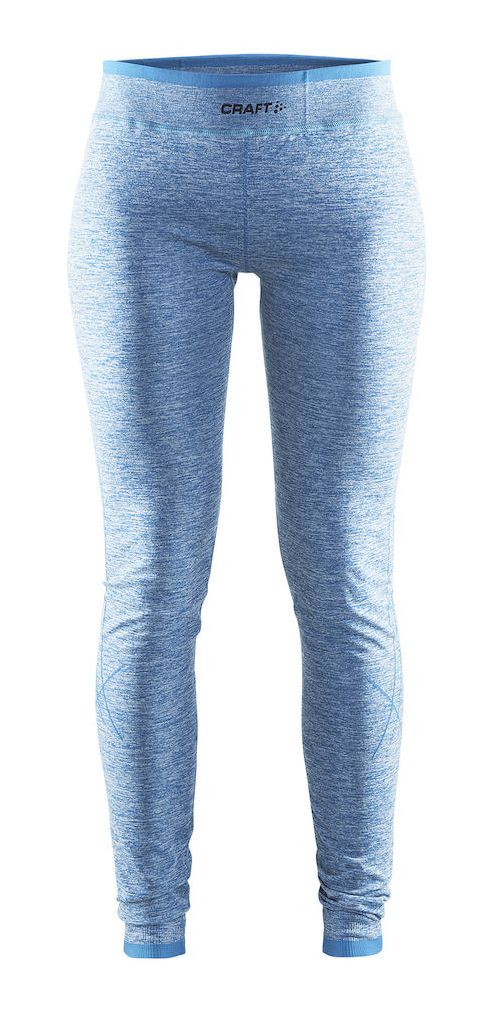 Womens Craft Active Comfort Tights & Leggings Pants - Mid Blue XL