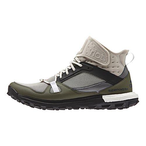 Mens adidas Supernova Riot Trail Running Shoe - Tan/Brown/Green 7.5