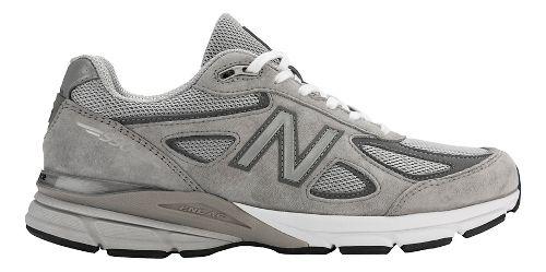 Mens New Balance 990v4 Running Shoe - Navy/Silver 9.5