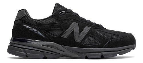 Mens New Balance 990v4 Running Shoe - Black/Black 16