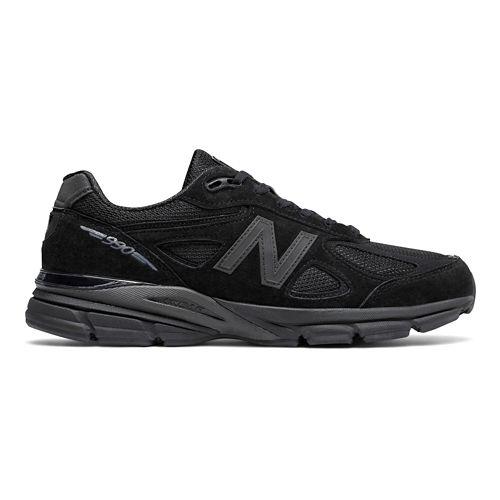 Mens New Balance 990v4 Running Shoe - Navy/Silver 12.5