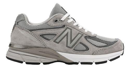 Womens New Balance 990v4 Running Shoe - Grey 10.5