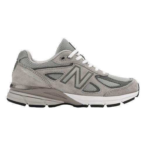 Womens New Balance 990v4 Running Shoe - Grey 7.5