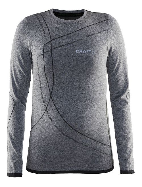 Craft Kids Active Comfort RN Long Sleeve Technical Tops - Black S