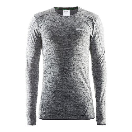Mens Craft Active Comfort RN Long Sleeve Technical Tops - Black XXL