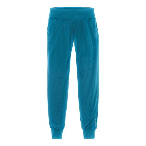 Womens Brooks Run-Thru Pants - River M