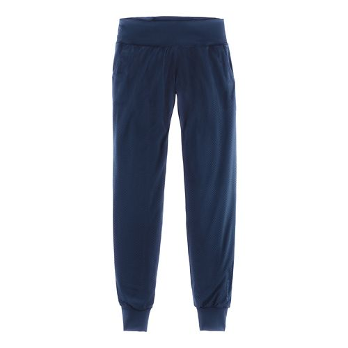 Womens Brooks Run-Thru Pants - Navy M