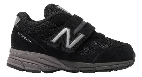 Kids New Balance 990v4 Running Shoe - Black/Black 5C