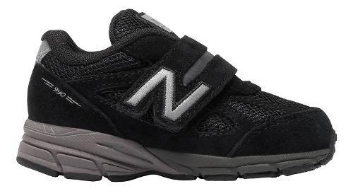 Kids New Balance 990v4 Running Shoe - Black/Black 6C