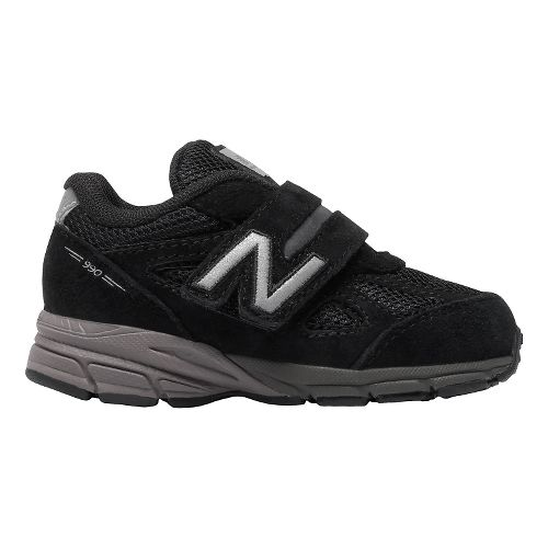 Kids New Balance 990v4 Running Shoe - Black/Black 10C