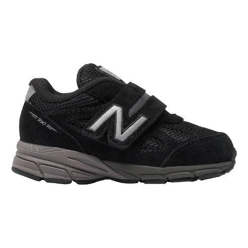 Kids New Balance 990v4 Running Shoe - Black/Black 8C