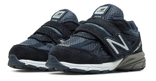 Kids New Balance 990v4 Running Shoe - Navy/Navy 8.5C