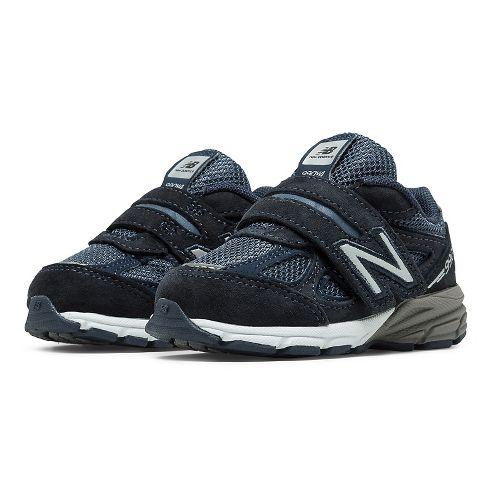 Kids New Balance 990v4 Running Shoe - Navy/Navy 8.5C