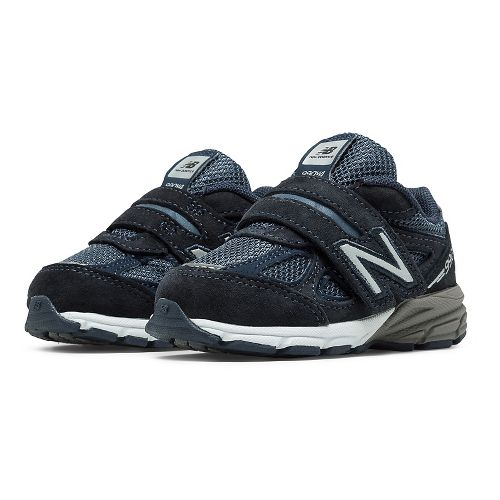 Kids New Balance 990v4 Running Shoe - Navy/Navy 9C