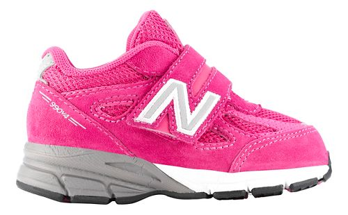 Kids New Balance 990v4 Running Shoe - Pink/Pink 10C