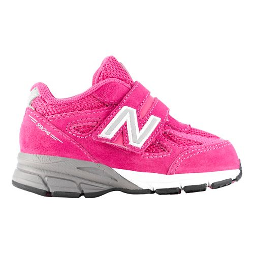 Kids New Balance 990v4 Running Shoe - Pink/Pink 7.5C