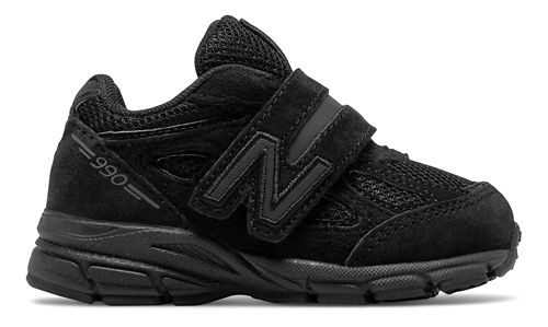 Kids New Balance 990v4 Running Shoe - Black 9C
