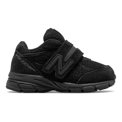 Kids New Balance 990v4 Running Shoe - Black 5.5C