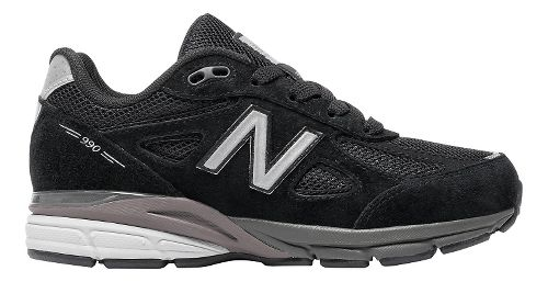 Kids New Balance 990v4 Running Shoe - Black/Black 10.5C