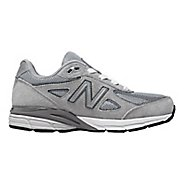 Kids New Balance 990v4 Running Shoe - Grey/Grey 11C