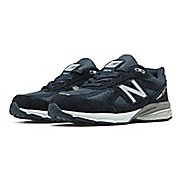 Kids New Balance 990v4 Running Shoe - Navy/Navy 10.5C