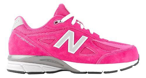Kids New Balance 990v4 Running Shoe - Pink/Pink 10.5C