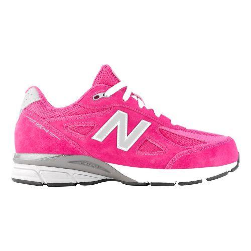 Kids New Balance 990v4 Running Shoe - Pink/Pink 11.5C