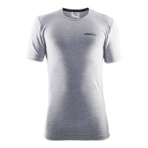 Mens Craft Active Comfort RN Short Sleeve Technical Tops - Grey XL