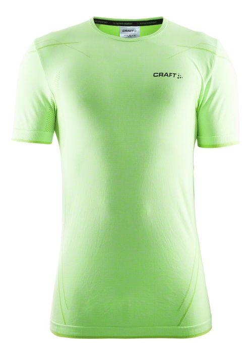 Mens Craft Active Comfort RN Short Sleeve Technical Tops - Gecko S