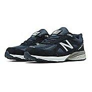 Kids New Balance 990v4 Running Shoe - Navy/Navy 6.5Y