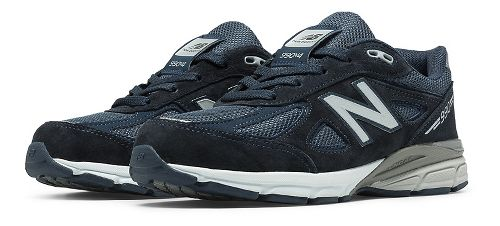 Kids New Balance 990v4 Running Shoe - Navy/Navy 6.5Y