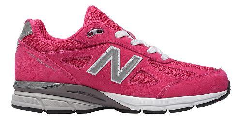 Kids New Balance 990v4 Running Shoe - Grey/Grey 3.5Y