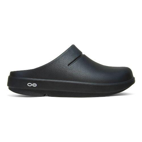 OOFOS OOcloog Sandals Shoe - Black 12