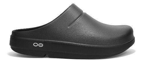 OOFOS OOcloog Luxe Sandals Shoe - Graphite 5